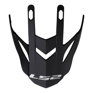 LS2 MX437 FAST EVO PEAK MATT BLACK