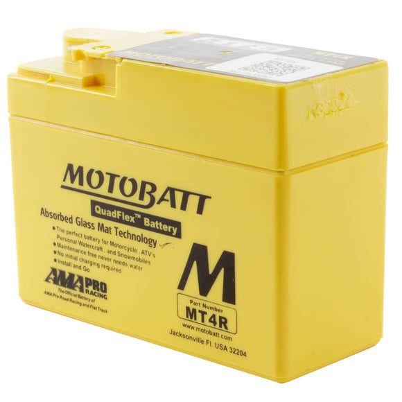 MBMT4R MOTOBATT QUADFLEX BATTERY (20PCS/CTN)