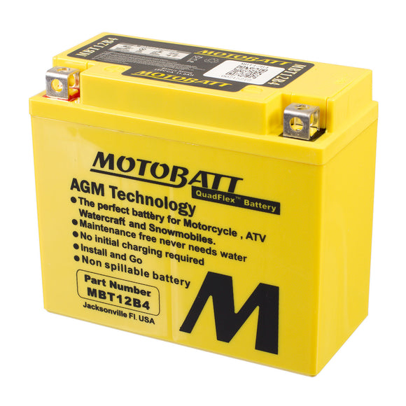 MBT12B-4 MOTOBATT QUADFLEX BATTERY (6PCS/CTN)