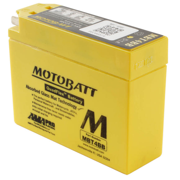 MBT4BB MOTOBATT QUADFLEX BATTERY (20PCS/CTN)