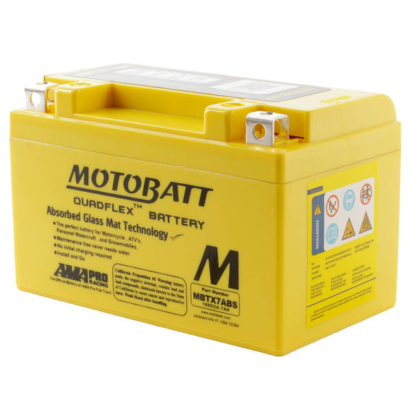 MBTX7A-BS MOTOBATT FLEX BATTERY (8PCS/CTN)