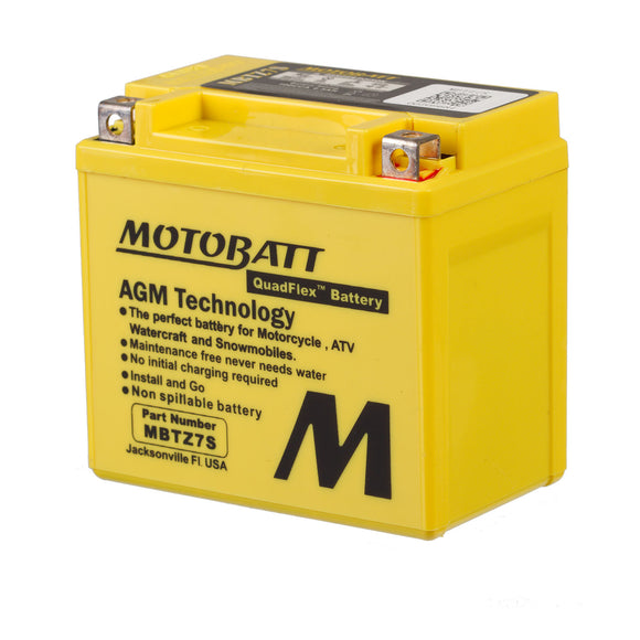 MBTZ7S MOTOBATT QUADFLEX BATTERY (10PCS/CTN)