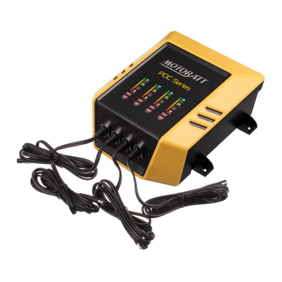 MOTOBATT CHARGER 4 BANK 12v 2.0 per channel
