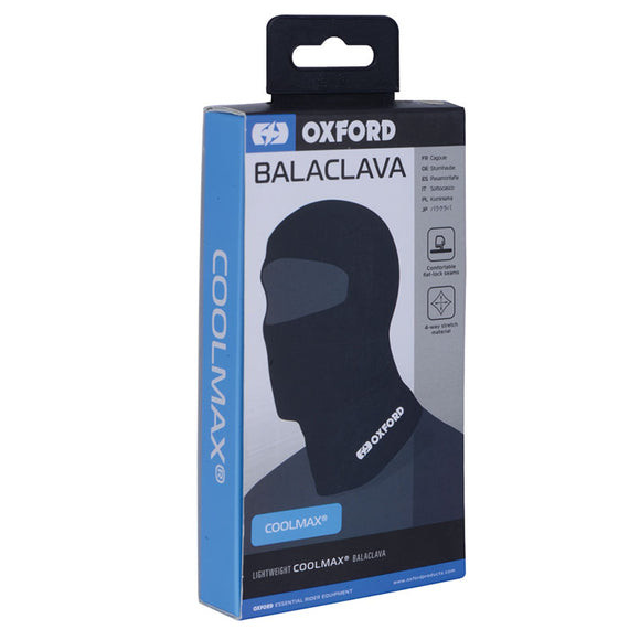 OXFORD BALACLAVA - COOLMAX  (new packaging)