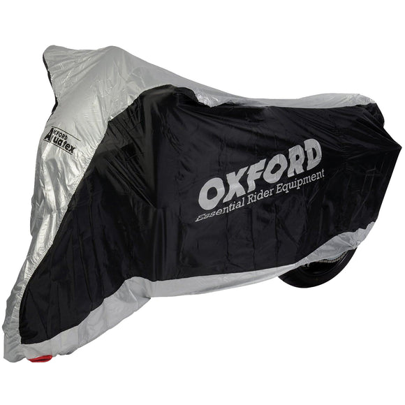 OXFORD AQUATEX LGE NYLON M/CYCLE COVER