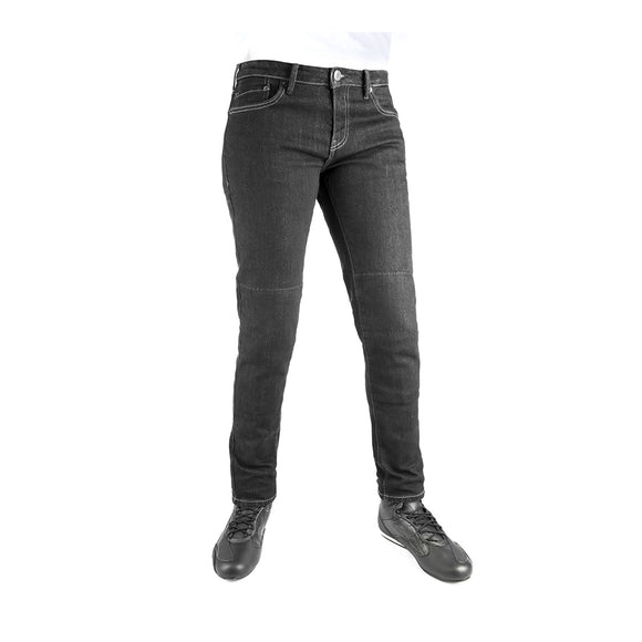 OXFORD ARMOURLITE LADIES JEAN SLIM BLK REG sz 8