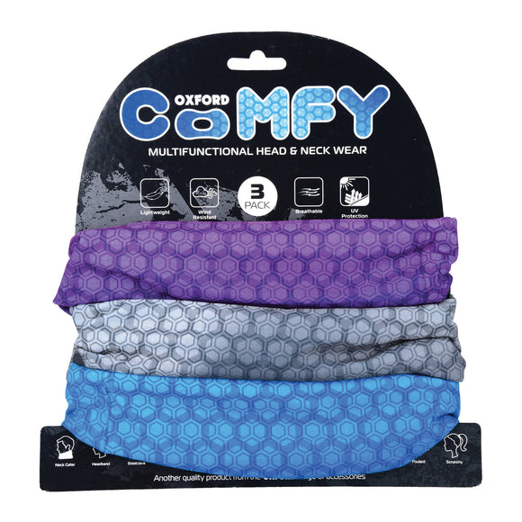 OXFORD COMFY PRISMATIC 3 PACK