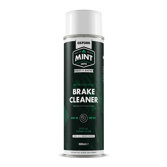 OXFORD MINT BRAKE CLEANER SPRAY 500ml
