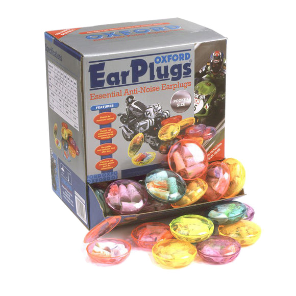OXFORD MOLDEX EAR PLUGS (box of 100 packs) (2 pairs ea pk)