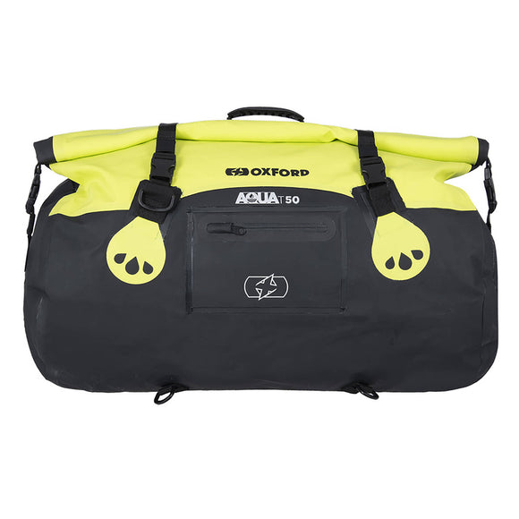 OXFORD AQUA T50 ROLL BAG BLK/FLUO  (NEW)