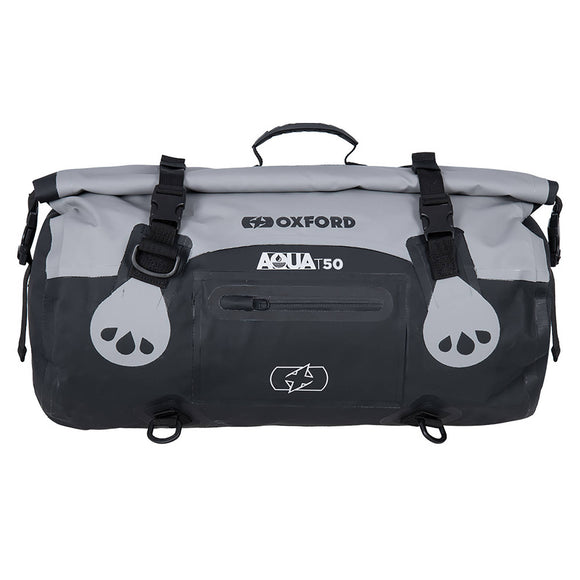 OXFORD AQUA T50 ROLL BAG BLK/GRY  (NEW)