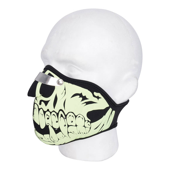 OXFORD NEOPRENE FACE MASK - SKULL  (NEW)