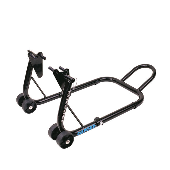 OXFORD BIG BLACK BIKE FRONT PADDOCK STAND