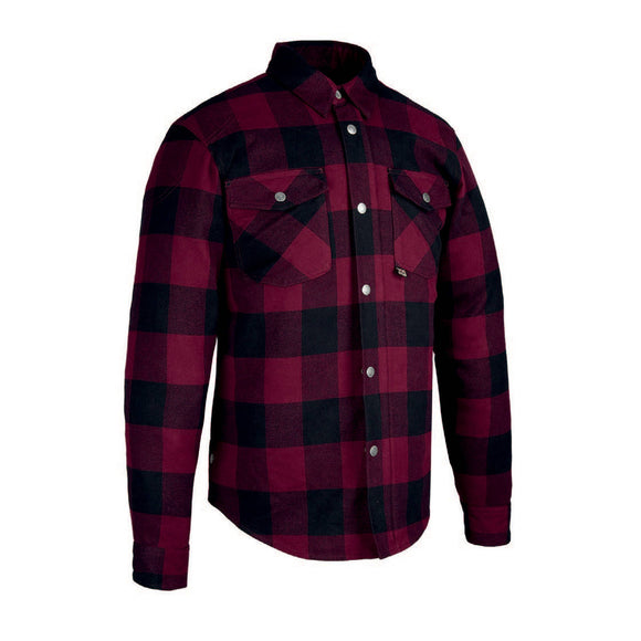 OXFORD KICKBACK 2.0 KEVLAR SHIRT - RED / BLACK