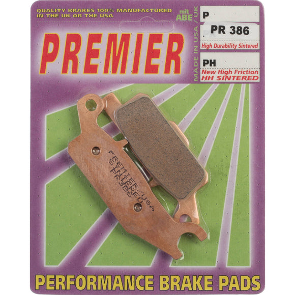PREMIER BRAKE PADS FULL SINT 550/700 Grizzly FR