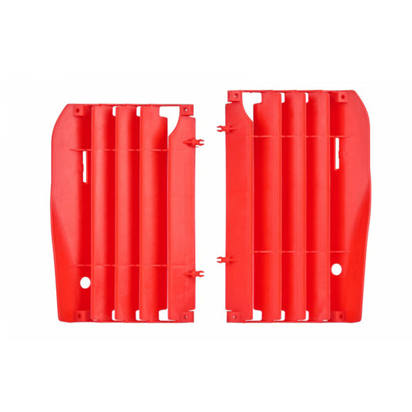 RADIATOR LOUVERS HON CRF250R 10-13 04RED