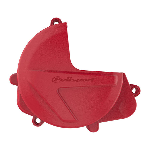 CLUTCH COVER PROTECTOR HON CRF450R/RX 17- RED