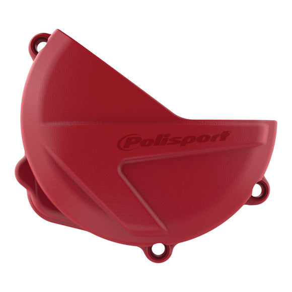 CLUTCH COVER PROTECTOR HON CRF250R 18-19 - RED