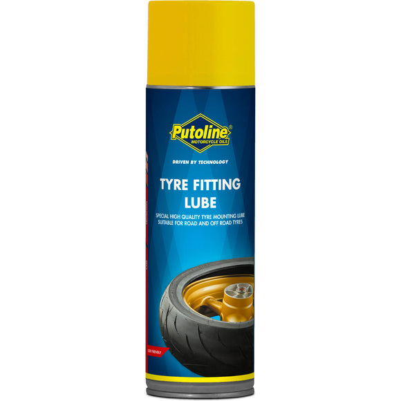 PUTOLINE TYRE FITTING LUBE SPRAY 500ML (74221) *12