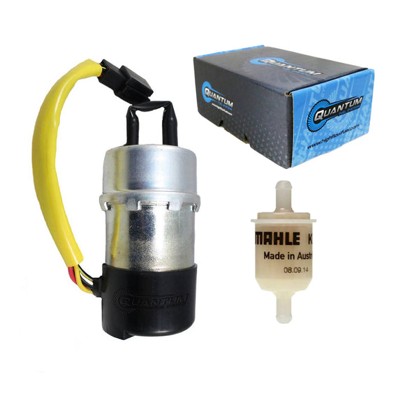 QUANTUM FRAME-MOUNTED ELECTRIC  FUEL PUMP W/ FILTER