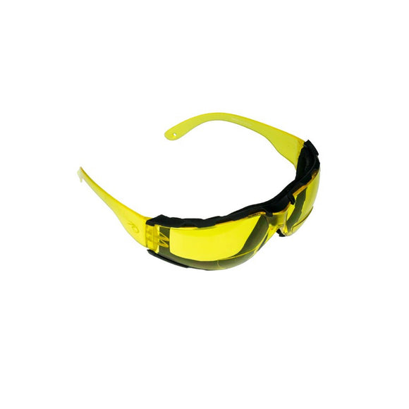ROCKY CREEK BI-FOCAL MOTORCYCLE RIDING GLASSES YELLOW 2.5