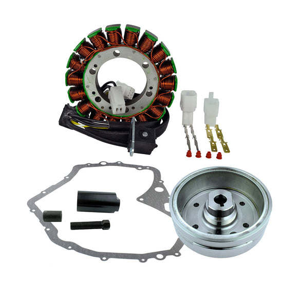IMPROVED FLYWHEEL+PULLER+STATOR+GASKET SUZ LTF400 (RM23027)