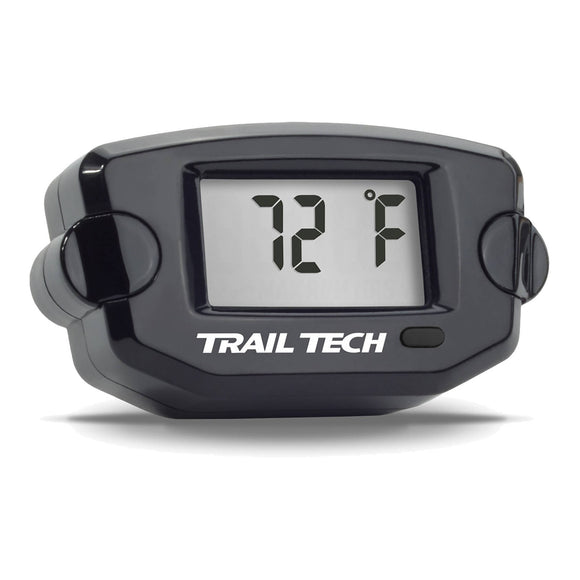 TRAIL TECH - TTO - TEMP METER 19mm HOSE - BLK