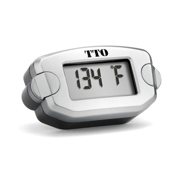TRAIL TECH - TTO - TEMP METER M6x10 SCREW IN - BLK