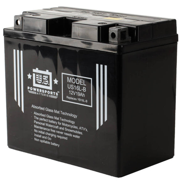 USPS AGM BATTERY US16L-B   YB16L-B  *4