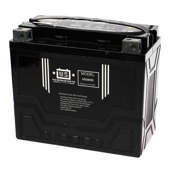 USPS AGM BATTERY US20HD   YTX20-BS  *4