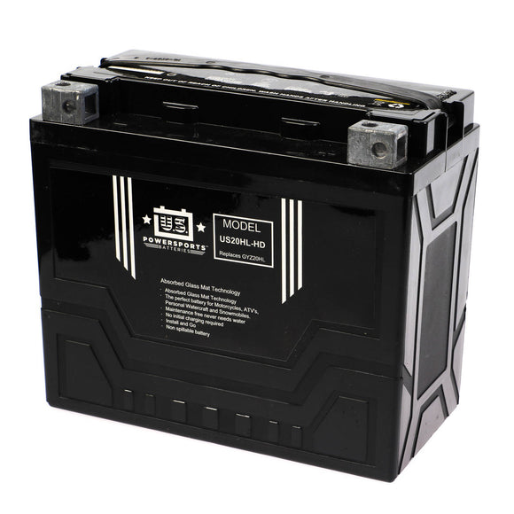 USPS AGM BATTERY US20HL-HD   YTX20L-BS  *4