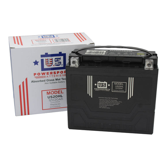 USPS AGM BATTERY US20HL   YTX20L-BS  *4