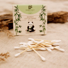 Load image into Gallery viewer, Cotton Swabs - Bamboo Family