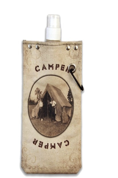 750ML Canvas Flask - gilt+gossamer