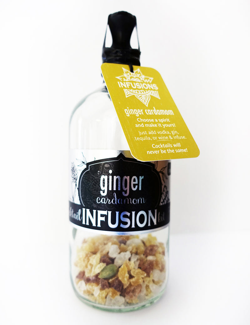Ginger Cardamom Cocktail Infusion