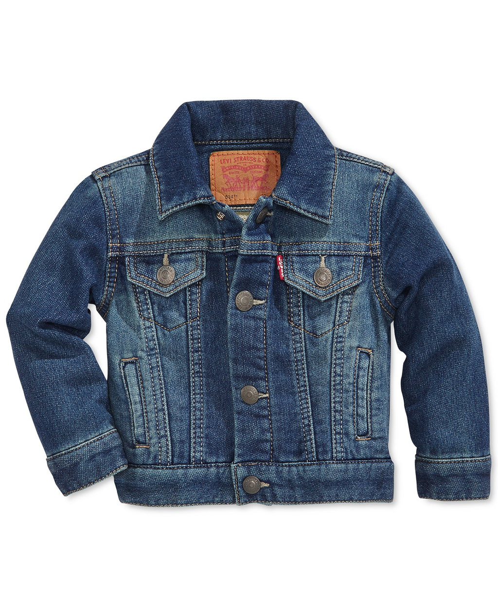 Baby Levi's Denim Trucker Jacket - gilt+gossamer