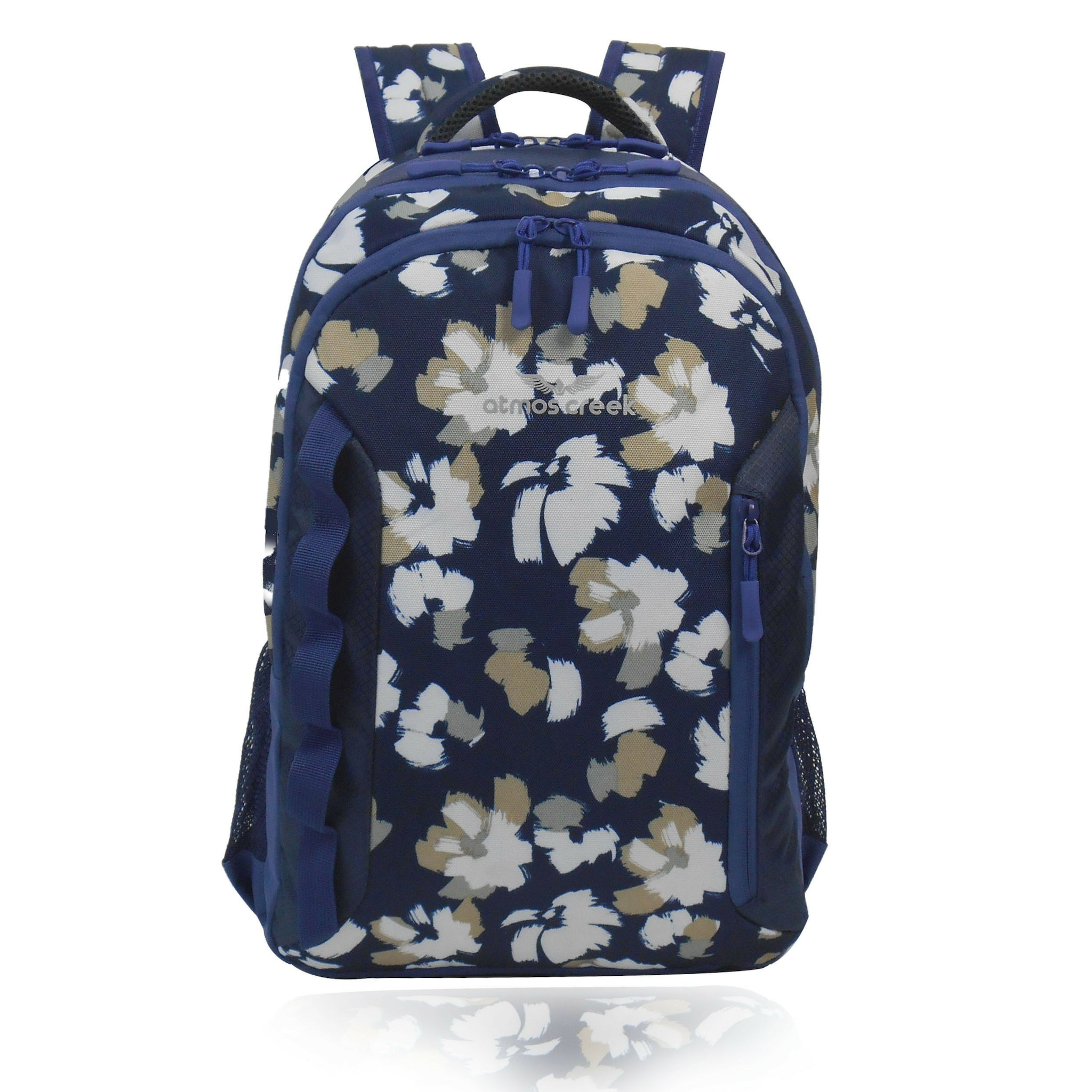 Atmos Creek FAM casual college floral backpack with laptop sleeve for girls 7767dd3516df7
