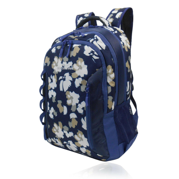 ... Atmos Creek FAM casual college floral backpack with laptop sleeve for  girls ... 5a2aef2a49d0f