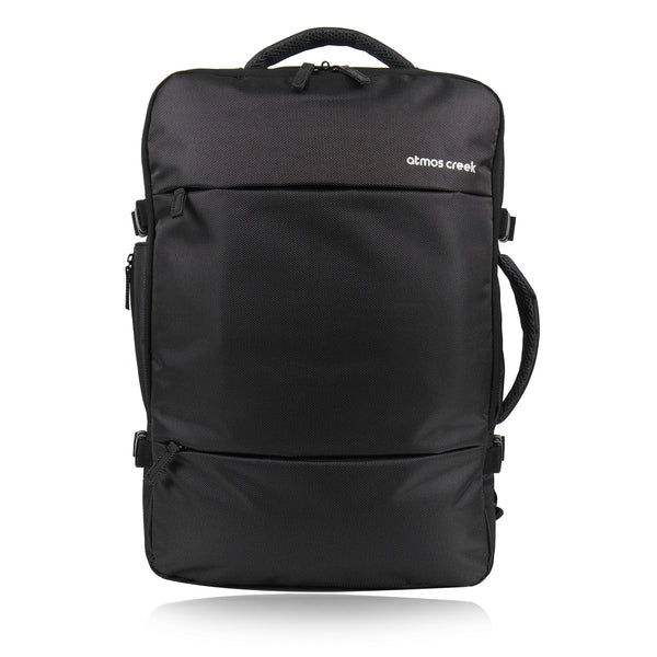 Carry on expandable travel backpack with laptop compartment Atmos Creek ... d01e251f8