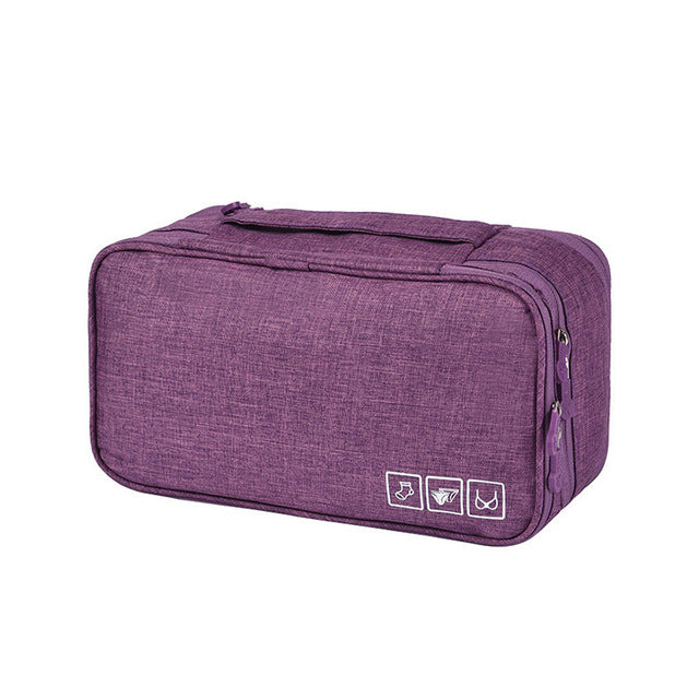 Women Bra Underwear Storage Bag Travel Portable Multi-function intimate-wear bag Atmos Creek