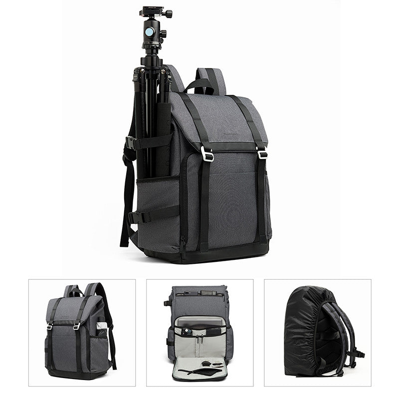 DSLR Camera Backpack retro camera Bag travel camera backpack photography bag with padded dividers