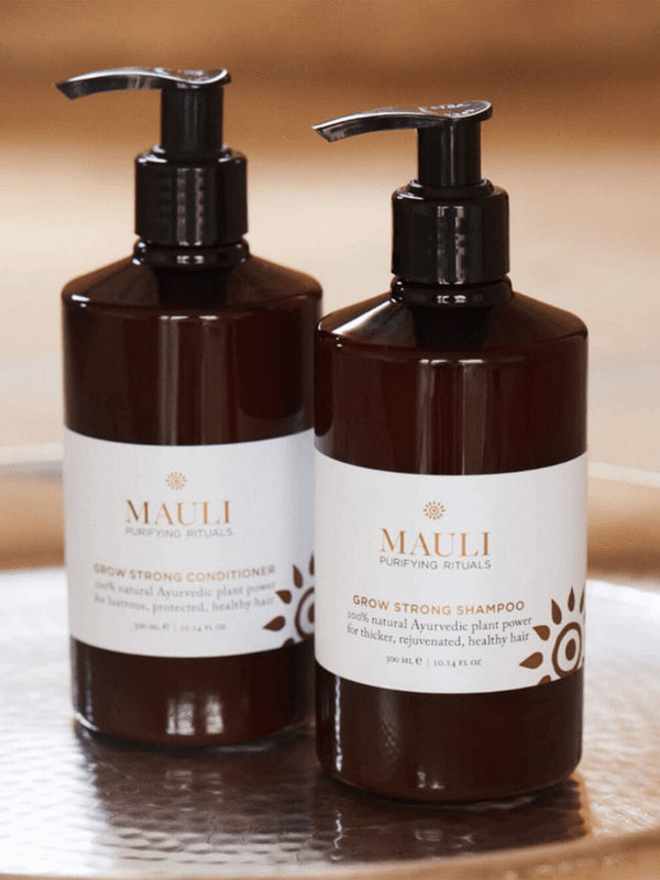 Mauli Rituals Grow Strong Shampoo Lifestyle