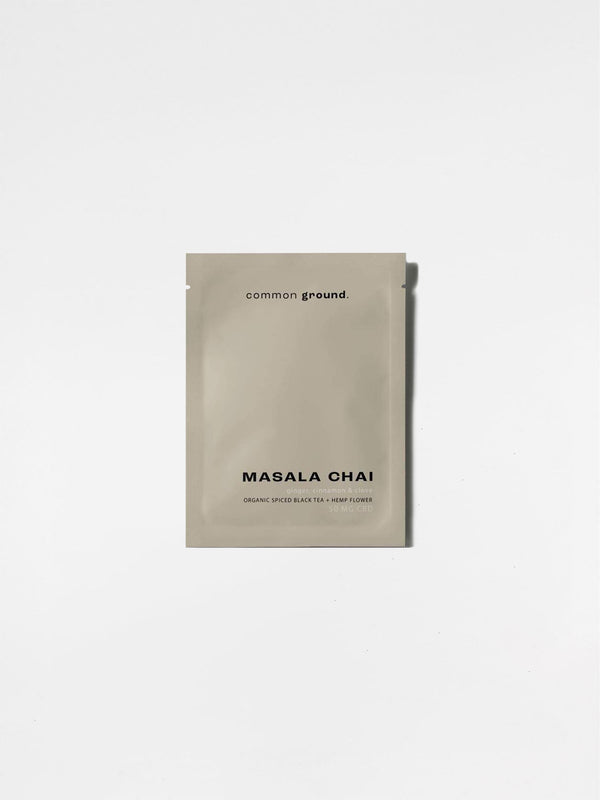 Common Ground Masala Chai Tea Sachet