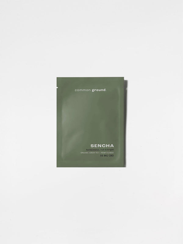Common Ground Sencha Green Tea Sachet