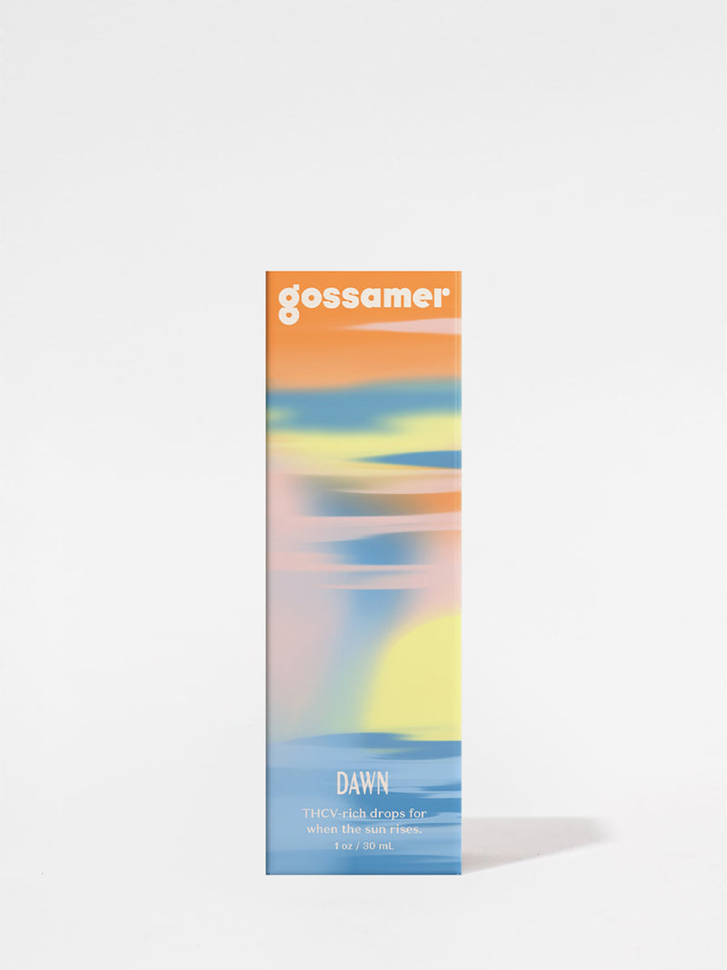 Gossamer Dawn Tincture outer box