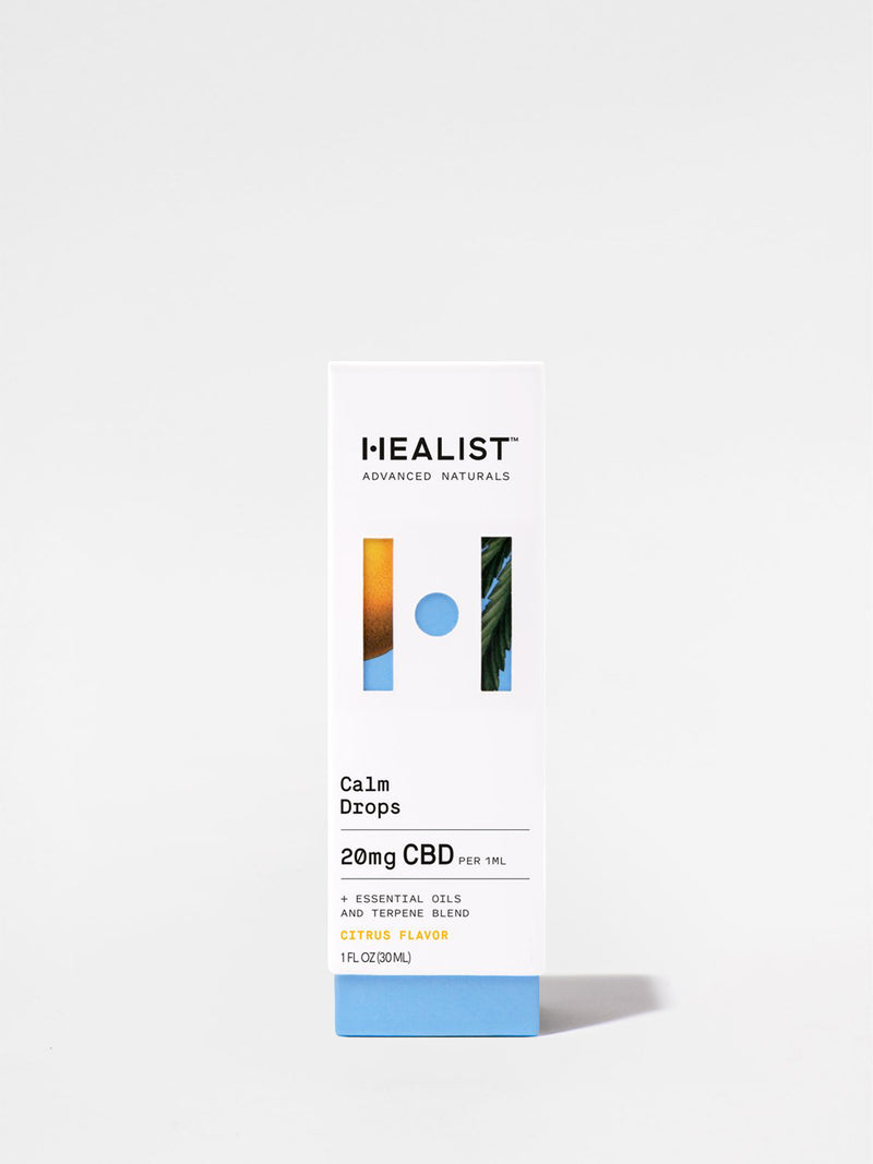 Healist Citrus Calm Drops Box
