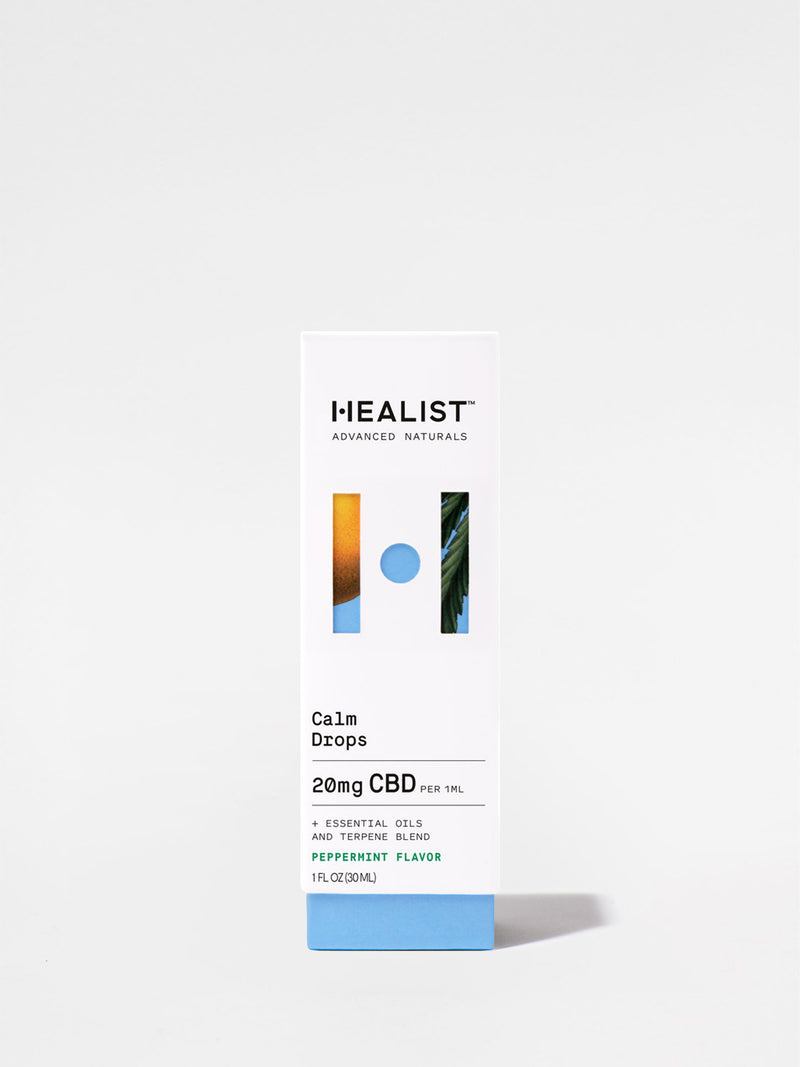 Healist Peppermint Calm Drops Box