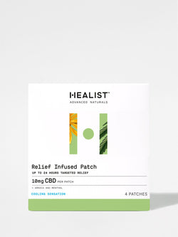 Healist Relief Infused Patches Box Front