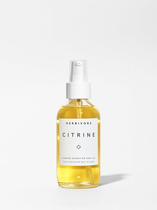 Herbivore Citrine Body Oil 4oz Bottle