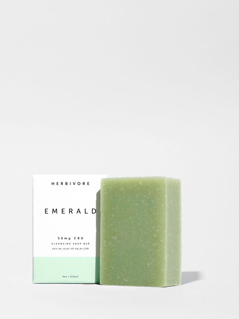Herbivore Emerald Soap 4oz Bar